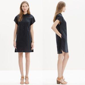 Madewell Vista Shirtdress in Black